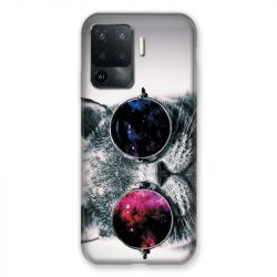 Coque Pour Oppo A94 5G Chat Fashion