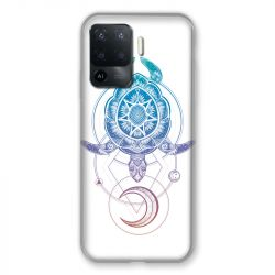 Coque Pour Oppo A94 5G Animaux Maori Tortue Color