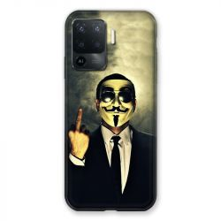 Coque Pour Oppo A94 5G Anonymous Doigt