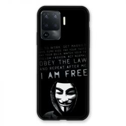 Coque Pour Oppo A94 5G Anonymous I am free