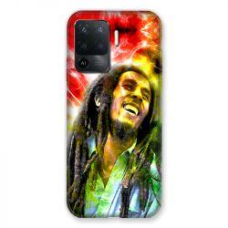 Coque Pour Oppo A94 5G Bob Marley Color