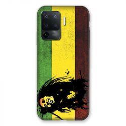 Coque Pour Oppo A94 5G Bob Marley Drapeau