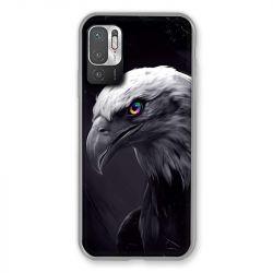 Coque Pour Xiaomi Redmi Note 10 5G Aigle Royal Noir