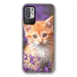 Coque Pour Xiaomi Redmi Note 10 5G Chat Violet