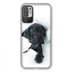 Coque Pour Xiaomi Redmi Note 10 5G Chien Noir