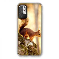 Coque Pour Xiaomi Redmi Note 10 5G Ecureuil Bois