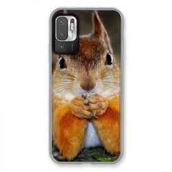 Coque Pour Xiaomi Redmi Note 10 5G Ecureuil Face