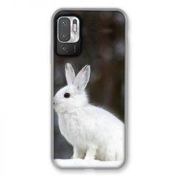 Coque Pour Xiaomi Redmi Note 10 5G Lapin Blanc