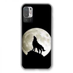 Coque Pour Xiaomi Redmi Note 10 5G Loup Noir