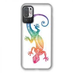 Coque Pour Xiaomi Redmi Note 10 5G Animaux Maori Salamandre Color