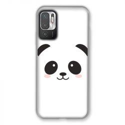 Coque Pour Xiaomi Redmi Note 10 5G Panda Blanc