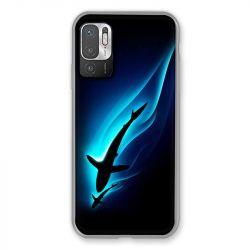 Coque Pour Xiaomi Redmi Note 10 5G Requin Noir