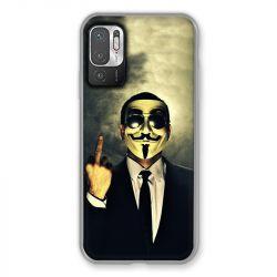 Coque Pour Xiaomi Redmi Note 10 5G Anonymous Doigt