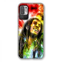 Coque Pour Xiaomi Redmi Note 10 5G Bob Marley Color