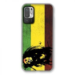 Coque Pour Xiaomi Redmi Note 10 5G Bob Marley Drapeau