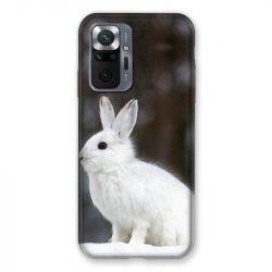 Coque Pour Xiaomi Redmi Note 10 Pro 5G Lapin Blanc