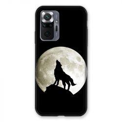 Coque Pour Xiaomi Redmi Note 10 Pro 5G Loup Noir