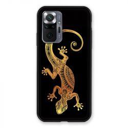 Coque Pour Xiaomi Redmi Note 10 Pro 5G Animaux Maori Lezard Noir