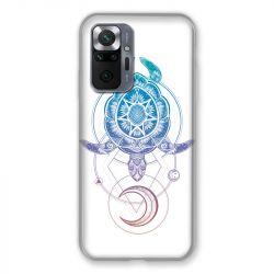 Coque Pour Xiaomi Redmi Note 10 Pro 5G Animaux Maori Tortue Color