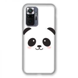 Coque Pour Xiaomi Redmi Note 10 Pro 5G Panda Blanc
