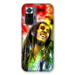 Coque Pour Xiaomi Redmi Note 10 Pro 5G Bob Marley Color