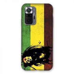 Coque Pour Xiaomi Redmi Note 10 Pro 5G Bob Marley Drapeau