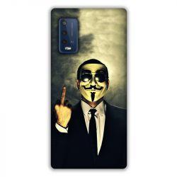 Coque Pour Wiko Power U10 / U20 Anonymous Doigt