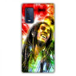 Coque Pour Wiko Power U10 / U20 Bob Marley Color