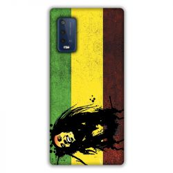 Coque Pour Wiko Power U10 / U20 Bob Marley Drapeau