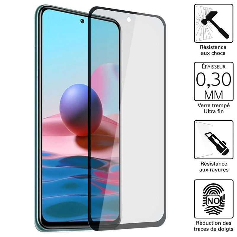 Vitre protection / Verre trempé 3D pour Xiaomi Redmi Note 10 5G