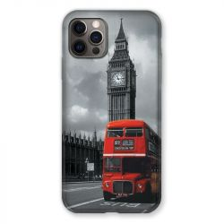 Coque Pour Iphone 13 (6.1) Angleterre London Bus