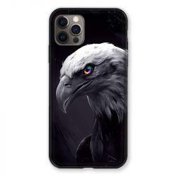 Coque Pour Iphone 13 (6.1) Aigle Royal Noir