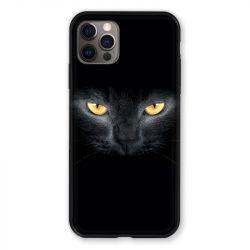 Coque Pour Iphone 13 (6.1) Chat Noir