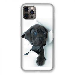 Coque Pour Iphone 13 (6.1) Chien Noir