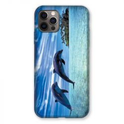 Coque Pour Iphone 13 (6.1) Dauphin Ile