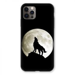 Coque Pour Iphone 13 (6.1) Loup Noir