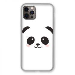 Coque Pour Iphone 13 (6.1) Panda Blanc