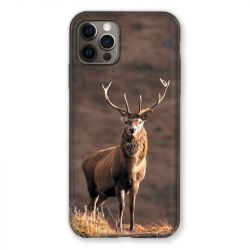 Coque Pour Iphone 13 (6.1) Chasse Chevreuil Blanc