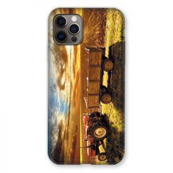 Coque Pour Iphone 13 MINI (5.4) Agriculture Tracteur Color