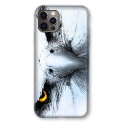 Coque Pour Iphone 13 MINI (5.4) Aigle Royal Blanc