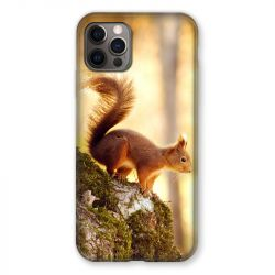 Coque Pour Iphone 13 MINI (5.4) Ecureuil Bois