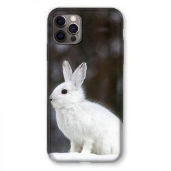 Coque Pour Iphone 13 MINI (5.4) Lapin Blanc