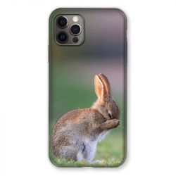 Coque Pour Iphone 13 MINI (5.4) Lapin Marron