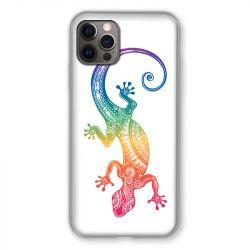 Coque Pour Iphone 13 MINI (5.4) Animaux Maori Salamandre Color