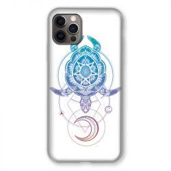 Coque Pour Iphone 13 MINI (5.4) Animaux Maori Tortue Color