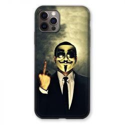 Coque Pour Iphone 13 MINI (5.4) Anonymous Doigt