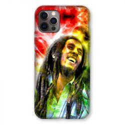 Coque Pour Iphone 13 PRO Bob Marley Color
