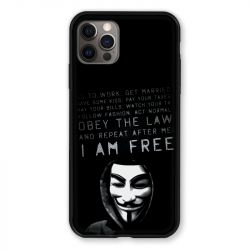 Coque Pour Iphone 13 PRO Anonymous I am free