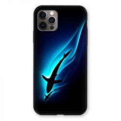 Coque Pour Iphone 13 PRO Requin Noir