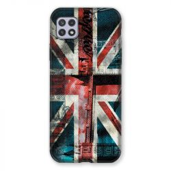 Coque Pour Samsung Galaxy A22 5G Angleterre UK Jean's